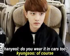 Watch and share Chanyeol GIFs and Kyungsoo GIFs on Gfycat