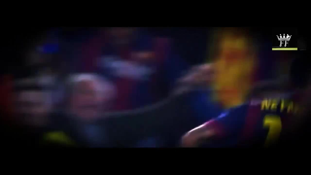 footbaww, soccer, Messi and Neymar celebration for the 3rd goal (reddit) GIFs