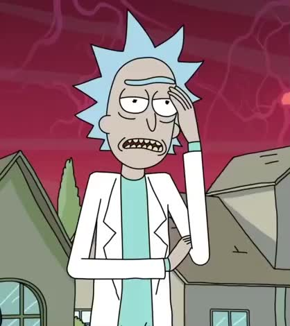 facepalm, ugh, Rick and Morty GIFs