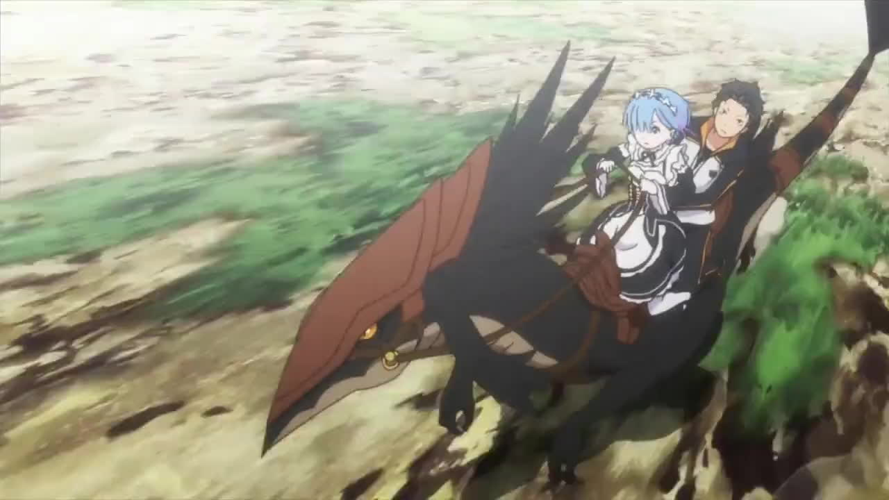 animegifs, Re:ZERO - Opening 2 GIFs