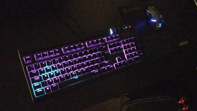 Corsair Gaming K55 RGB Keyboard Review! GIF | Find, Make