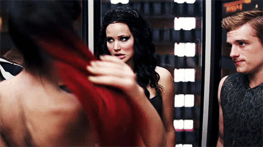 awkward, hunger games, the hunger games, Hunger games GIFs