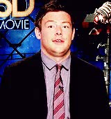 Watch and share Cory Monteith Quote GIFs and Lea Michele Quotes GIFs on Gfycat