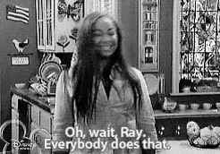 Watch and share Black And White GIFs and Thats So Raven GIFs on Gfycat
