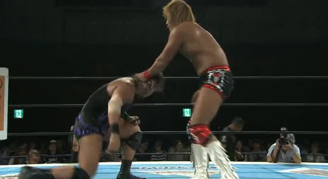 Watch [NJPW G1 SPOILERS] Tetsuya Naito vs. EVIL GIF by NewJapanGuy (@newjapanguy) on Gfycat. Discover more squaredcircle GIFs on Gfycat