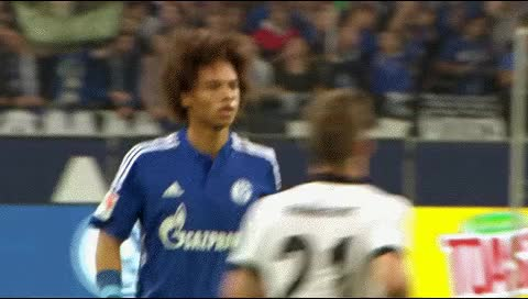 Watch and share Leroy Sane. Schalke - Eintracht Frankfurt. 2015-16 GIFs by fatalali on Gfycat