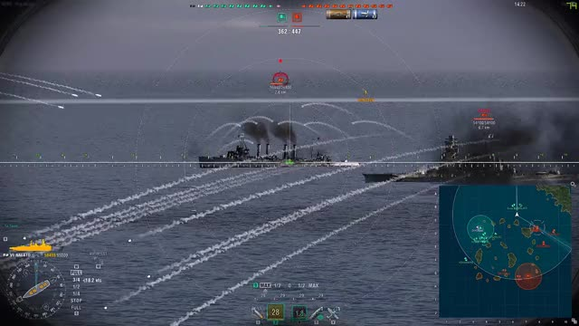 Watch this GIF on Gfycat. Discover more WorldOfWarships GIFs on Gfycat