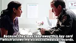 Watch and share Sheriff Stilinski GIFs and Melissa Mccall GIFs on Gfycat