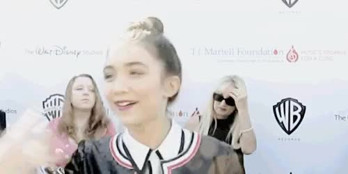 Watch and share Rowan Blanchard GIFs and Rowanbedit GIFs on Gfycat