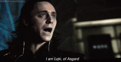 Watch and share Tom Hiddleston GIFs and Loki GIFs on Gfycat