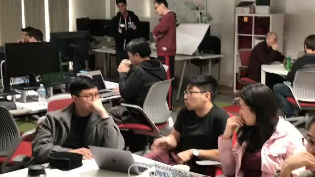 Generating ideas at Gfycat's GIF Hack 2017 GIF by Gfycat (@gfycathq
