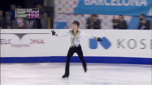 Watch Yuzuru HANYU - 2014 GPF FS + Interview GIF by Irina Niculiu (@irinan) on Gfycat. Discover more 1skate48, 2014 GPF, Figure Skating, Grand Prix of Figure Skating Final, HANYU, Sports, Yuzuru, kobe1207, 羽生結弦 GIFs on Gfycat