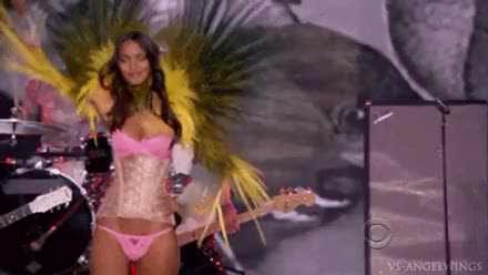Watch and share Victorias Secret GIFs and Lais Ribeiro GIFs on Gfycat