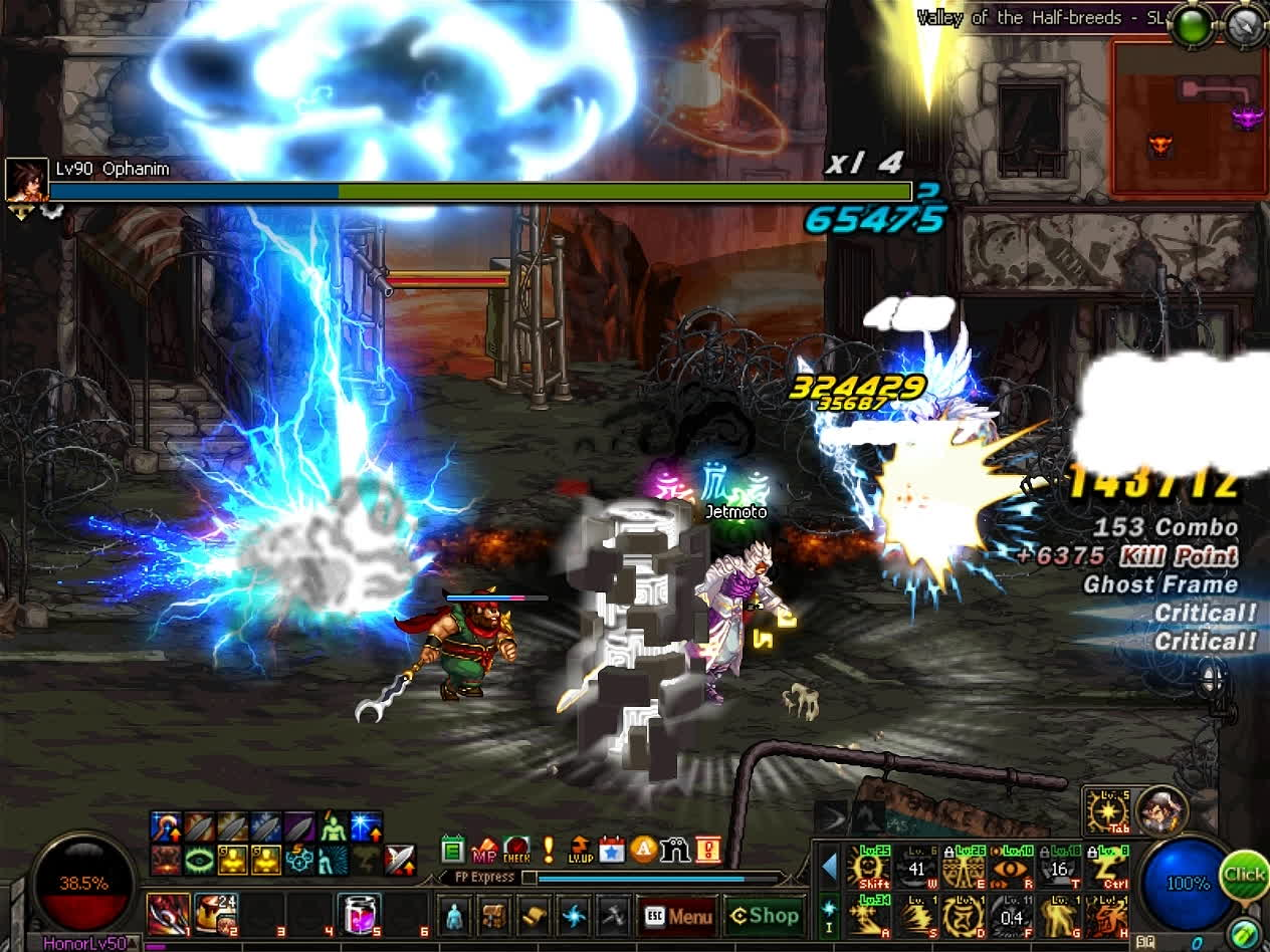 60fps, dfo, mmorpg, DFO Hell Mode Vol.79 GIFs