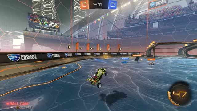Watch and share Rocket League 2019.02.02 - 22.43.26.05.DVR GIFs by 1234fifth on Gfycat