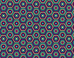 Watch Op Art colored hexagon gif GIF on Gfycat. Discover more related GIFs on Gfycat