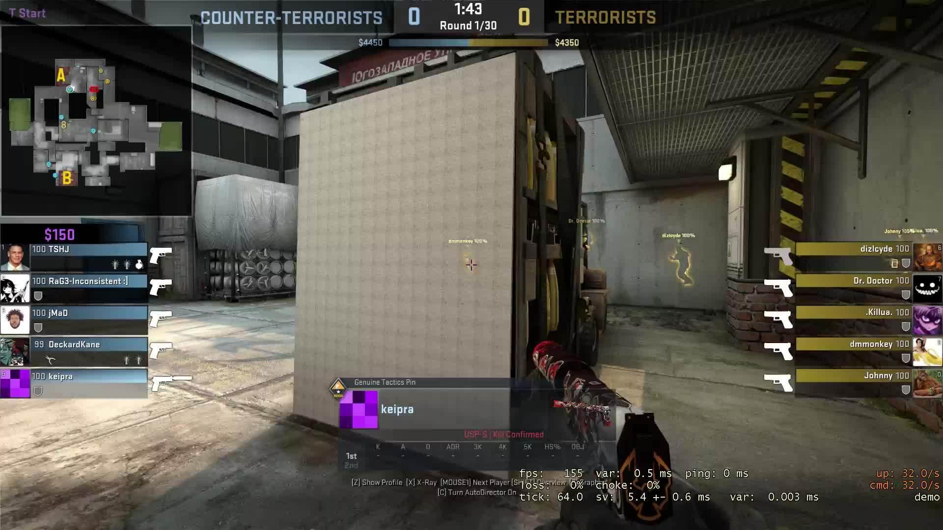 counterstrike, Pistol 4K HS GIFs