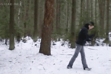 reversegif, Creative hat catch (reddit) GIFs