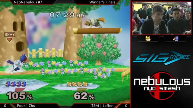 NeoNebulous 7 - Zhu (Falco) vs Leffen (Fox) - WF