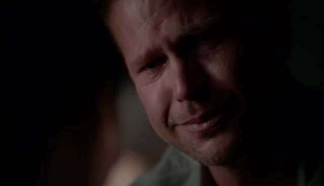 The Vampire Diaries: 7x06 - Jo/Florence dies, Alaric says goodbye to her [HD] GIFs