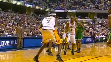 Watch Jermaine O'Neal, Indiana Pacers GIF by Off-Hand (@off-hand) on Gfycat. Discover more related GIFs on Gfycat