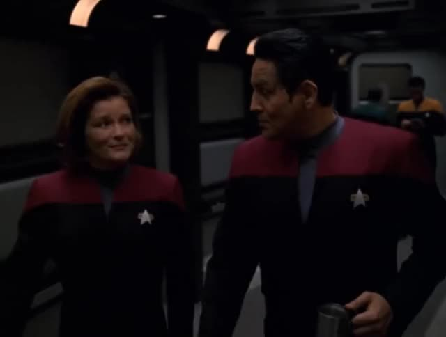 Watch and share Captain Janeway GIFs and Kathryn Janeway GIFs by Star Trek gifs on Gfycat