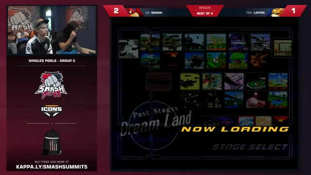 Leffen vs Mang0 - Melee Singles: Group C - Smash Summit 5