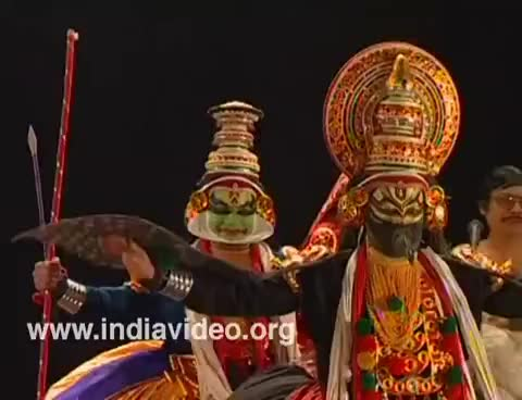 Watch and share Kathakali GIFs and Costumes GIFs on Gfycat
