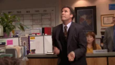 Watch and share Will Ferrell GIFs and The Office GIFs on Gfycat