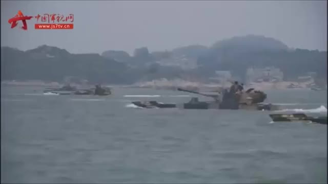 Watch and share Chinese Amphibious Armoured Brigade Conducting Combined Arms Landing Exercise. (reddit) GIFs on Gfycat
