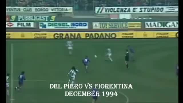 Watch and share Del Piero Grande Gol  Impossible Volley [Juventus Vs Fiorentina] (reddit) GIFs by squidgmeister on Gfycat
