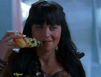 Watch and share Lucy Lawless GIFs and Eating GIFs on Gfycat