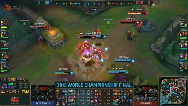Watch and share [Worlds 2015] SKT MaRin $1 KOO GIFs by ITCC on Gfycat