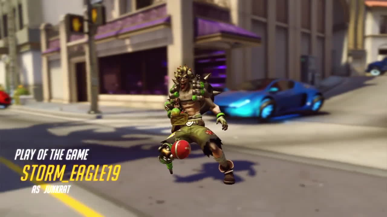 overwatch, ps4share, sony interactive entertainment, Savage Junkrat GIFs
