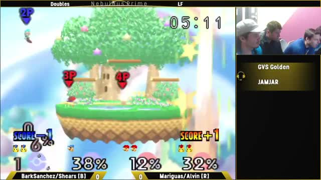 Watch SuperBoomed: Doubles - LF: BarkSanchez/Shears [B] vs. Mariguas/Alvin [R] GIF on Gfycat. Discover more smashbros GIFs on Gfycat