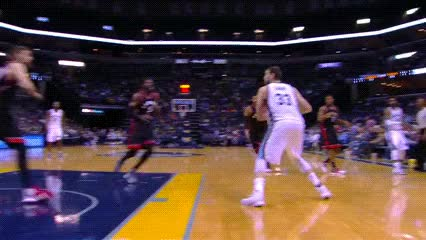 Watch and share Marc Gasol — Memphis Grizzlies GIFs by Off-Hand on Gfycat