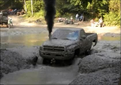 "Watch and share "" 2nd Gen Dodge Cummins Rolling Coal GIFs on Gfycat"