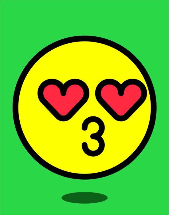 Watch and share Emoji GIFs and Kiss GIFs on Gfycat