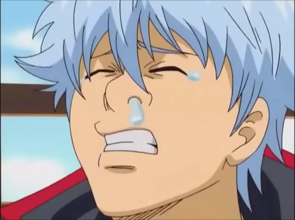 Gintama sneeze attack GIFs