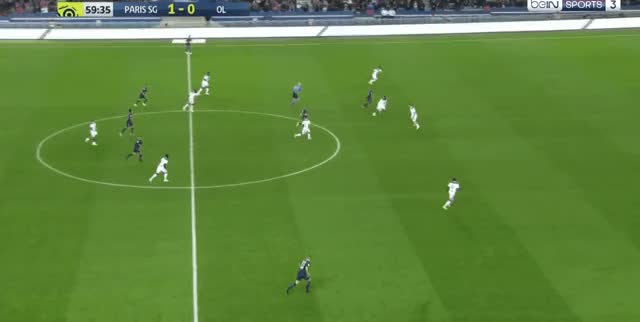 Watch Neymar short pass + Mbappe miss vs Lyon 18-19 02 GIF by FIFPRO Stats (@rahspot) on Gfycat. Discover more related GIFs on Gfycat