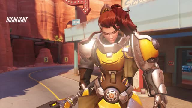 Watch and share Overwatch GIFs and Brigitte GIFs by Ghofel on Gfycat