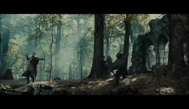 Watch and share LOTR The Fellowship Of The Ring - Extended Edition - Battle Of Amon Hen GIFs on Gfycat