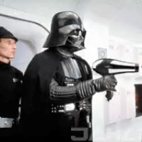 Watch and share Hairdryer Leia GIFs on Gfycat