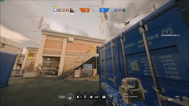 Watch and share Rainbow6 GIFs by assureddoge on Gfycat