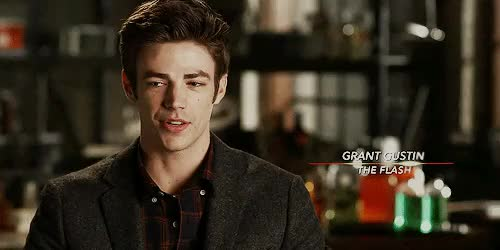 Watch and share Grant Gustin GIFs and The Flash GIFs on Gfycat