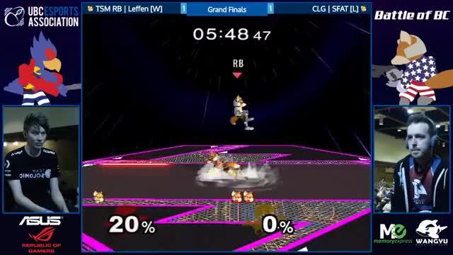 Watch TSM RB | Leffen (White Fox) vs. CLG | SFAT (Red Fox) | SSBM GF | BoBC GIF on Gfycat. Discover more smashgifs GIFs on Gfycat