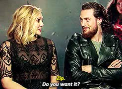 Watch and share Actual Siblings GIFs and Elizabeth Olsen GIFs on Gfycat