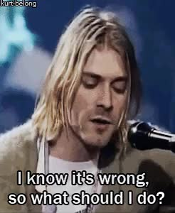 Watch and share Mtv Unplugged GIFs and Kurt Cobain GIFs on Gfycat