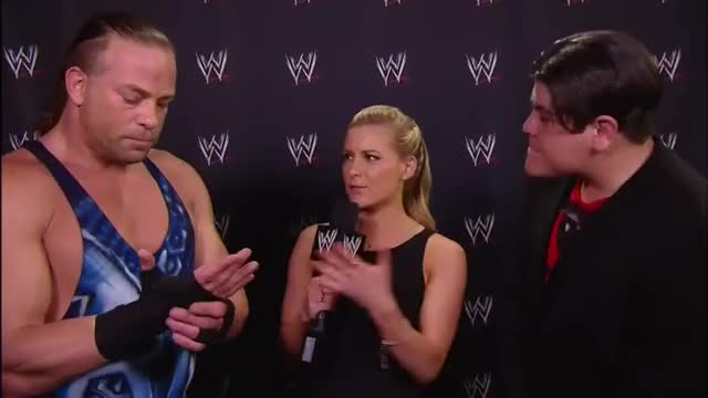 Watch Interview GIF by Blaze Inferno (@metaknightxprophets) on Gfycat. Discover more Renee Young, Ricardo Rodriguez, Rob Van Dam GIFs on Gfycat