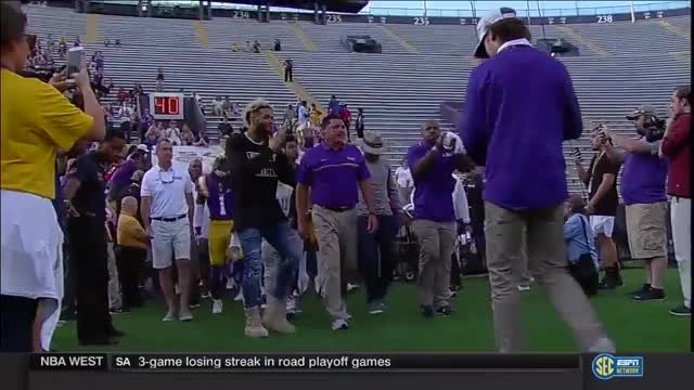 Watch and share 🏈LSU Spring Game 2017🏈 GIFs on Gfycat